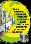 Jana RM5000 Sebulan Dengan Perniagaan Pasif Mesin Air Bertapis - text