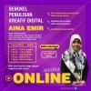 Bengkel Penulisan Kreatif Digital Bersama Aina Emir - text