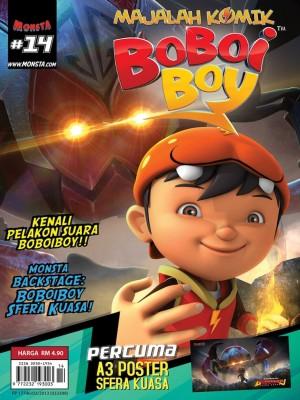 Majalah Komik BoBoiBoy Isu #14 by Animonsta Studios Sdn Bhd from Animonsta Studios Sdn Bhd in Comics category
