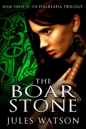 The Boar Stone Book Three of the Dalriada Trilogy by Jules Watson from Bookbaby in General Novel category