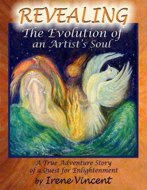 Revealing: The Evolution of an Artist's Soul by Irene Vincent from Bookbaby in Motivation category