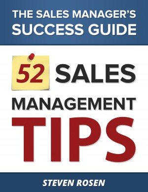 52 Sales Management Tips The Sales Managers' Success Guide