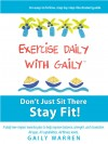 Exercise Daily With Gaily - text