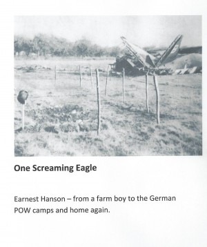 One Screaming Eagle - From a Farm Boy to the German Pow Camps and Home Again by Rhonda Hanson from Bookbaby in History category