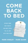Come Back to Bed - text