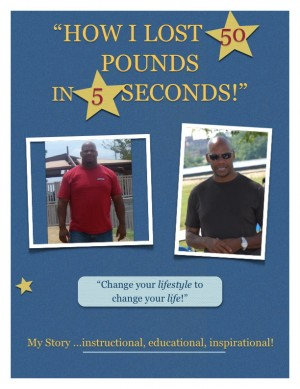 How I Lost 50 Pounds In 5 Seconds The Story of my New Life by Steve Fitzhugh from Bookbaby in Family & Health category