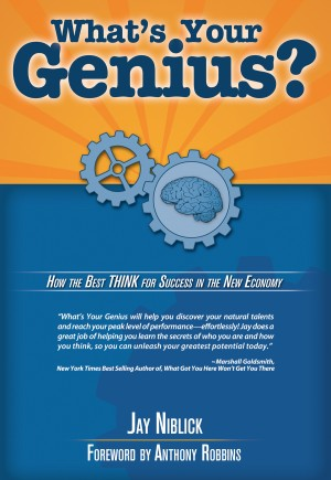 What's Your Genius How the best think for success by Jay Niblick from Bookbaby in Business & Management category