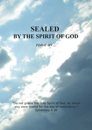 Sealed by the Spirit of God Float On by Gloria from Bookbaby in Religion category
