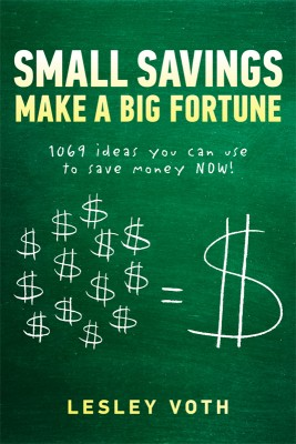 Small Savings Make a Big Fortune 1069 ideas you can use to save money NOW!