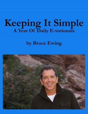 Keeping It Simple A Year of Daily E-votionals by Bruce Ewing from Bookbaby in Religion category