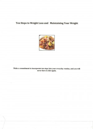 Ten Steps to Weight Loss and Maintaining Your Weight  by Glenda Hays France from Bookbaby in Family & Health category