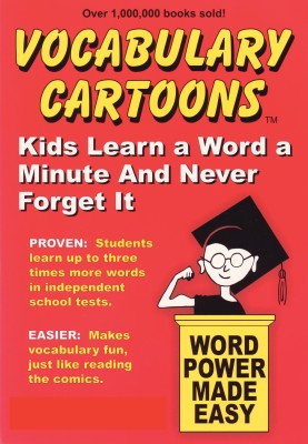 Vocabulary Cartoons - Kids Learn a Word a Minute and Never Forget It. by Bryan Burchers from Bookbaby in General Academics category
