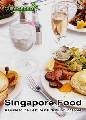 Singapore Food A Guide to the Best Restaurants in Singapore by GuideGecko from Bookbaby in Travel category