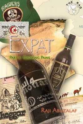 Expat - Part 3: Growing Pains by Raji Abuzalaf from Bookbaby in Autobiography,Biography & Memoirs category