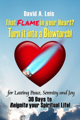 That Flame in your Heart? Turn it into a Blowtorch! by David Leis from Bookbaby in Religion category