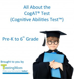 All About the CogAT® Test - Crash Course for Cognitive Abilities Test™ for Pre-K to 8th Grade by Testing Mom LLC from Bookbaby in General Novel category