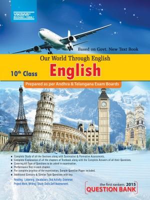 X-Class English Question Bank - Our World through English