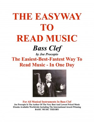The Easyway to Read Music Bass Clef by Joe Procopio from Bookbaby in General Novel category