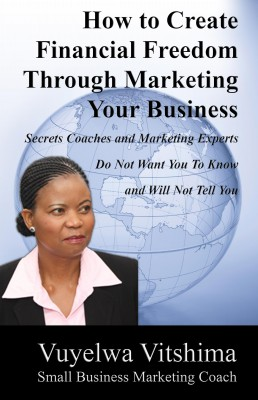 How to Create Financial Freedom Through Marketing Your Business - Secrets Coaches & Marketing Experts Don't Want You To Know & Won't Tell You by Vuyelwa Vitshima from Bookbaby in General Novel category
