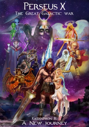 Perseus X the Great Galactic War by Kathaphon K. from Bookbaby in General Novel category