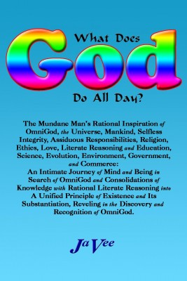 What Does GOD Do All Day? by JaVee from Bookbaby in Religion category