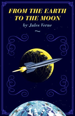 From the Earth to the Moon by Jules Verne from Vearsa in General Novel category