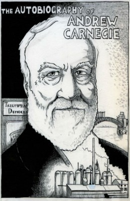 The Autobiography of Andrew Carnegie by Andrew Carnegie from Vearsa in Autobiography,Biography & Memoirs category
