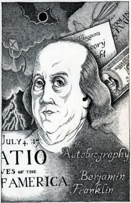 The Autobiography of Benjamin Franklin by Benjamin Franklin from Vearsa in Autobiography,Biography & Memoirs category