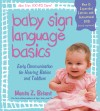Baby Sign Language Basics - text