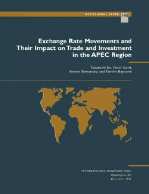 Exchange Rate Movements and Their Impact on Trade and Investment in the APEC Region by Takatoshi Ito from Vearsa in Finance & Investments category