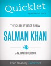 Quicklet on The Charlie Rose Show: Salman Khan by David  Corrick from  in  category