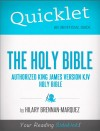 Quicklet on The Holy Bible: Authorized King James Version by Hilary  Brennan-Marquez from  in  category