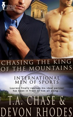Chasing the King of the Mountains by T.A. Chase from Vearsa in Romance category