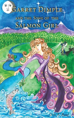 Garret Dimple and the Song of the Salmon Girl by Dan A Reidy from Vearsa in Teen Novel category