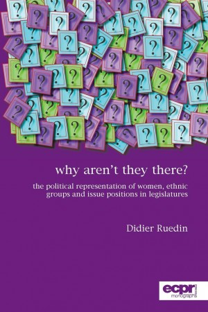 Why aren't they there? by Didier Ruedin from Vearsa in Politics category