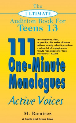 The Ultimate Audition Book for Teens Volume 13 by Marco Ramirez from Vearsa in General Novel category