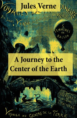 A Journey to the Center of the Earth by Jules Verne from Vearsa in General Novel category