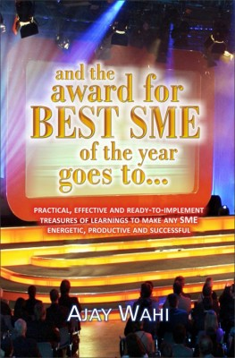 and the award for Best SME of the year goes to by Ajay Wahi from Vearsa in Finance & Investments category