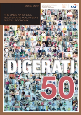 Digerati50 2.0 (2016) by Karamjit Singh from Digital News Asia Sdn Bhd in Magazine category