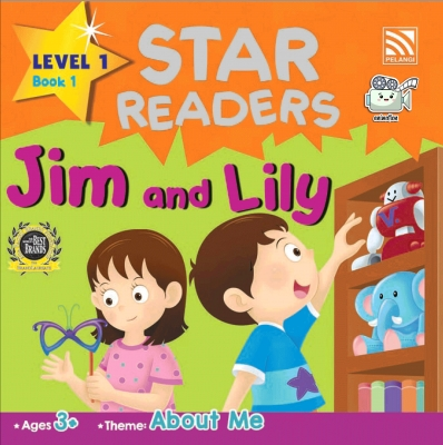 Star Readers L1 Book 1: Jim and Lily by Abdul Rahim Rodgers & Zainon Shamsudin from Pelangi ePublishing Sdn. Bhd. in Children category