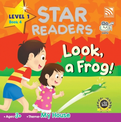 Star Readers L1 Book 4: Look, a Frog!