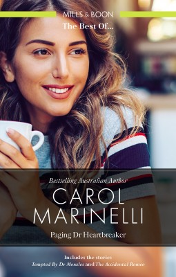Tempted by Dr Morales/The Accidental Romeo by Carol Marinelli from HarperCollins Publishers Australia Pty Ltd in General Novel category