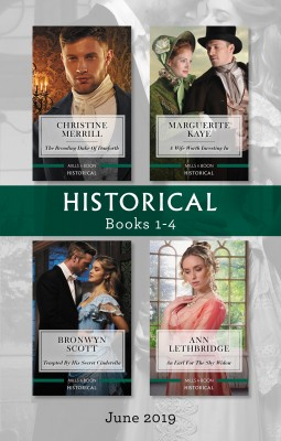 Historical Box Set 1-4/The Brooding Duke of Danforth/A Wife Worth Investing In/Tempted by His Secret Cinderella/An Earl for the Shy Widow by Marguerite Kaye from HarperCollins Publishers Australia Pty Ltd in General Novel category
