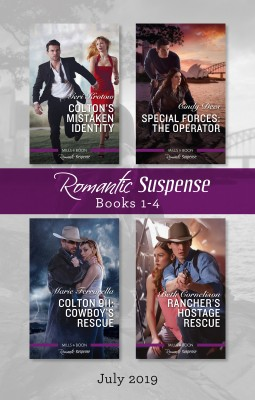 Romantic Suspense Box Set 1-4/Colton's Mistaken Identity/Special Forces by Cindy Dees from HarperCollins Publishers Australia Pty Ltd in Romance category