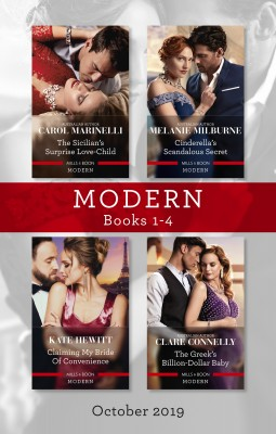 Modern Box Set 1-4/The Sicilian's Surprise Love-Child/Cinderella's Scandalous Secret/Claiming My Bride of Convenience/The Greek's Billion- by Kate Hewitt from HarperCollins Publishers Australia Pty Ltd in General Novel category