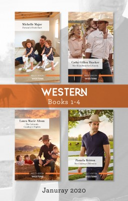Western Box Set 1-4 Jan 2020/Fortune's Fresh Start/The Texas Rancher's Family/The Colorado Cowboy's Triplets/The Cowboy's Dilemma by Michelle Major from HarperCollins Publishers Australia Pty Ltd in Romance category