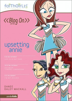 Upsetting Annie by Dandi Daley Mackall from HarperCollins Christian Publishing in Chick-Lit category