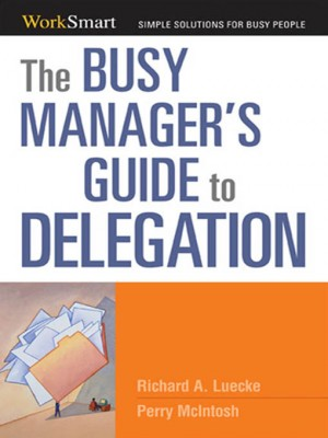 Busy Manager's Guide to Delegation by Perry McIntosh from HarperCollins Christian Publishing in Business & Management category
