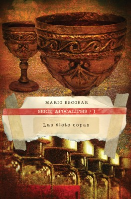 siete copas by Mario Escobar from HarperCollins Christian Publishing in General Novel category