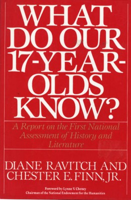 What Do Our 17-Year-Olds Know by Diane Ravitch from HarperCollins Publishers LLC (US) in School Exercise category